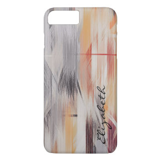 Pastel Colored Abstract Pattern #6 iPhone 7 Plus Case