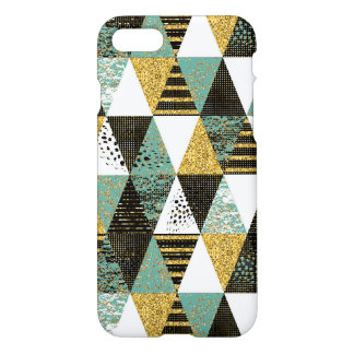 Pastel Colorfu Geometric Triangles GR2 iPhone 7 Case