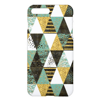 Pastel Colorfu Geometric Triangles iPhone 7 Plus Case