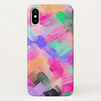 Pastel Colorful Abstract Background #2 iPhone X Case