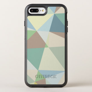 Pastel Colorful Geometric Shapes Abstract Pattern OtterBox Symmetry iPhone 7 Plus Case