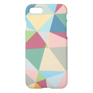 Pastel Colorful Modern Abstract Geometric Pattern iPhone 7 Case