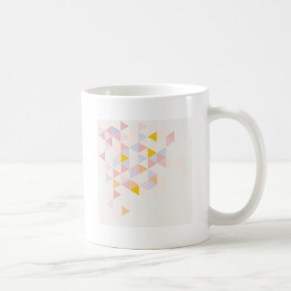 Pastel colorful modern surface design background coffee mug