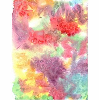 Pastel colorful watercolour background image photo cutouts
