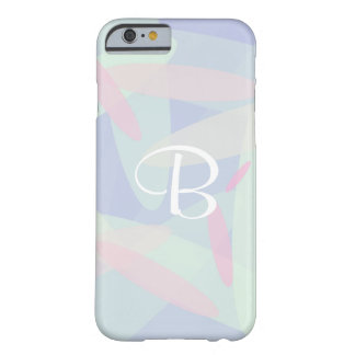 Pastel colors and your text barely there iPhone 6 case