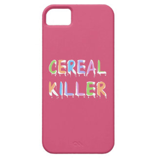 Pastel Colors Cereal Killer Pun iPhone 5 Cover