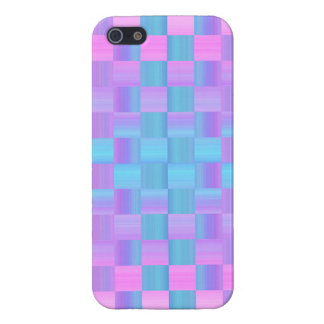 Pastel Colors  Mosaic Tile Pattern Case For The iPhone 5