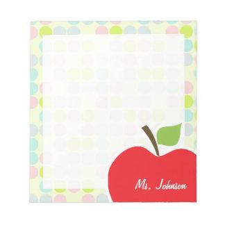 Pastel Colors, Polka Dot; Apple Notepad