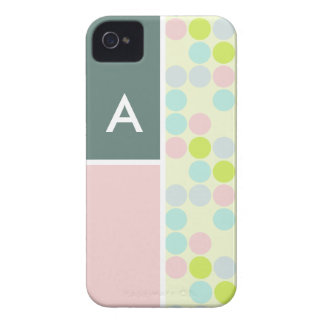 Pastel Colors Polka Dot iPhone 4 Cover