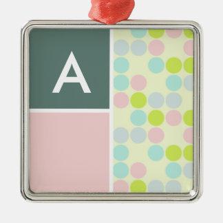 Pastel Colors, Polka Dot Ornaments