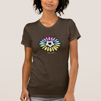 Pastel Colors Soccer Daisy T-Shirt