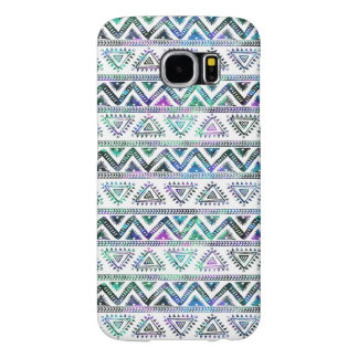 Pastel Colors Tribal Geometric Pattern Samsung Galaxy S6 Cases