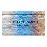Pastel Coloured on Wood #2 Pack Of Standard Business Cards