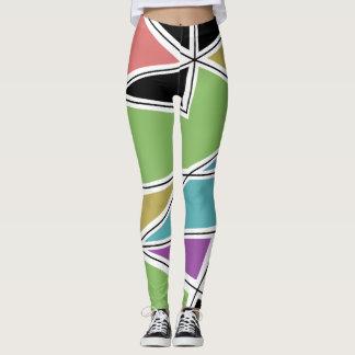 Pastel Colourful Pattern Leggings