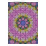 Pastel Colours Mandala Note Card