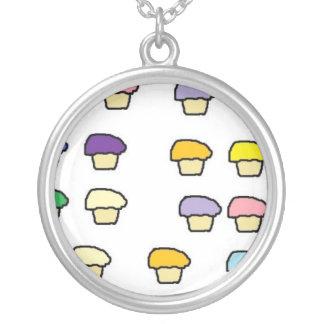 Pastel Cupcakes Necklace