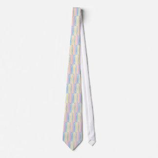 Pastel Curves Tie