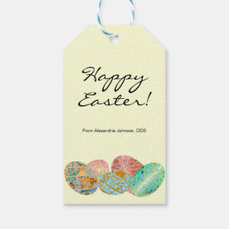Pastel Custom Business Sponsor Easter Egg Hunt Gift Tags
