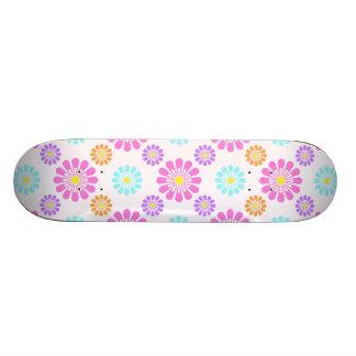 Pastel Daisies Skateboard