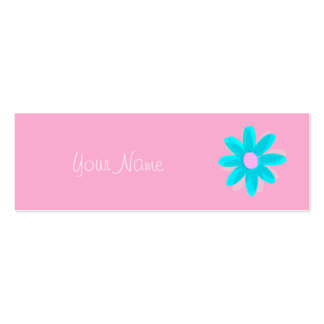 pastel daisy business card