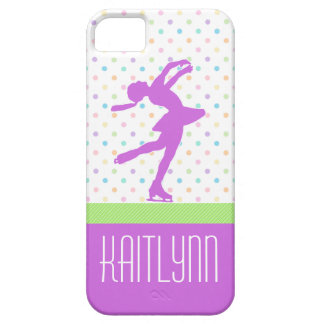 Pastel Dots Skating iPhone 5/5s Case