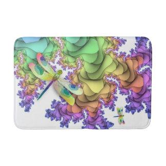 Pastel Dragonflies Bath Mat