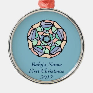 Pastel Dreams Christmas Ornament