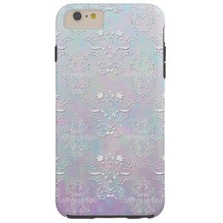 Pastel Dreams Damask Pattern Tough iPhone 6 Plus Case