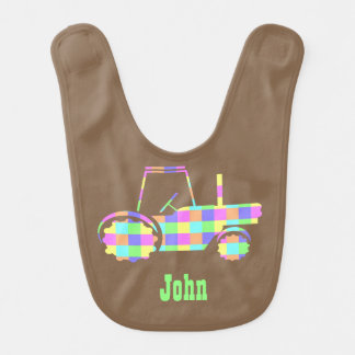 Pastel Easter Colored Custom Tractor Bib