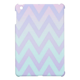 Pastel Fade Chevron Cover For The iPad Mini