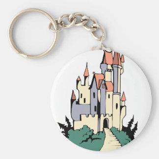 Pastel Fairytale Castle Keychains