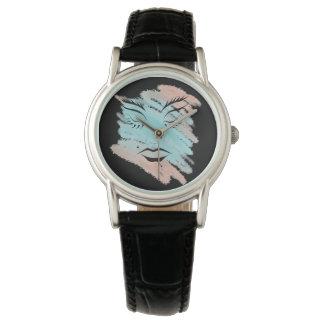 pastel fashion face design for wrist watch