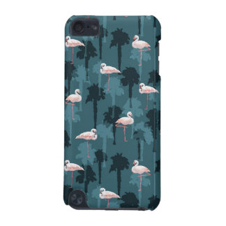 Pastel Flamingos On Teal iPod Touch (5th Generation) Cover