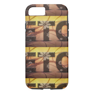 Pastel Floral Hippy ETC abstract iPhone 7 Case