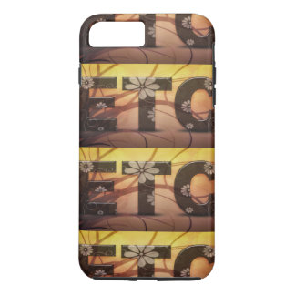 Pastel Floral Hippy ETC abstract iPhone 7 Plus Case