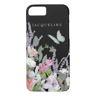 Pastel Floral Lavender Wild Flower Garden Painted iPhone 8/7 Case