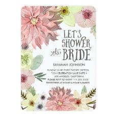 Pastel Floral | Lets Shower the Bride | Bridal Cards