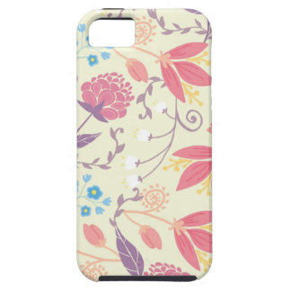 Pastel floral spring garden pattern iPhone 5 case