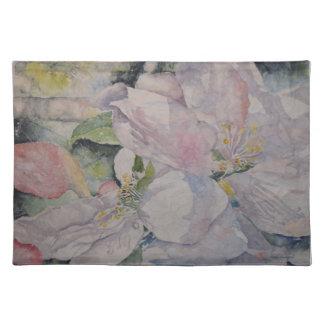 Pastel Floral Watercolor Art Placemat