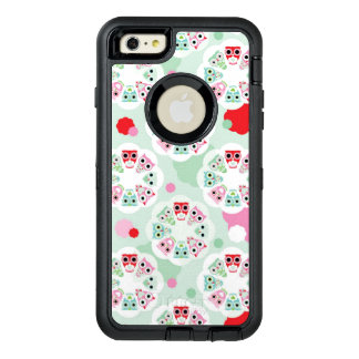 pastel flower owl background pattern OtterBox iPhone 6/6s plus case