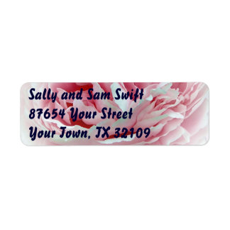 Pastel Flower Return Address Label