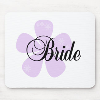 Pastel Flowers Lilac Bride Tshirts and Gifts Mousepads