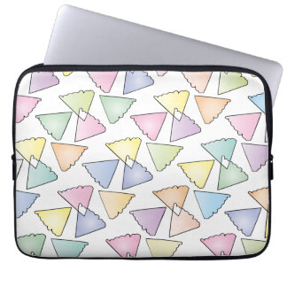 Pastel Forms Laptop Computer Sleeves