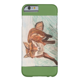 Pastel Fox Barely There iPhone 6 Case