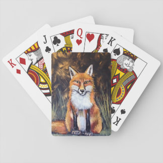 Pastel Fox playing Cards