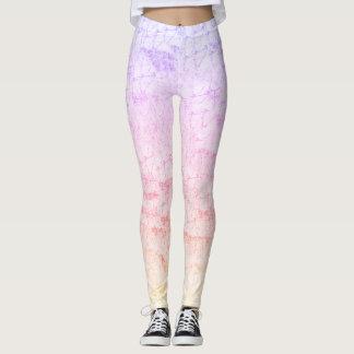 Pastel fun leggings