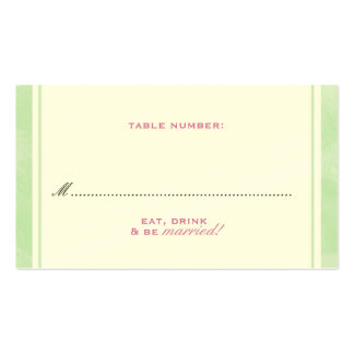 Pastel Garden Place Card Double-Sided Standard Business Cards (Pack Of 100)