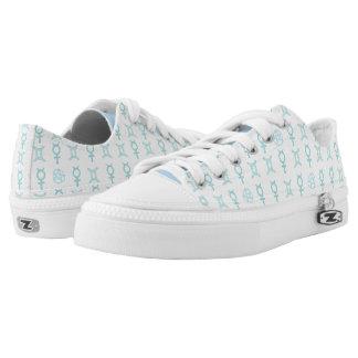 Pastel Gemini Low Top Shoes Printed Shoes