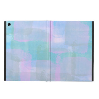Pastel Geometric Lines Abstract Art iPad Air Case