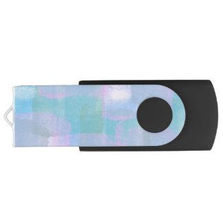 Pastel Geometric Lines USB Flash Drive